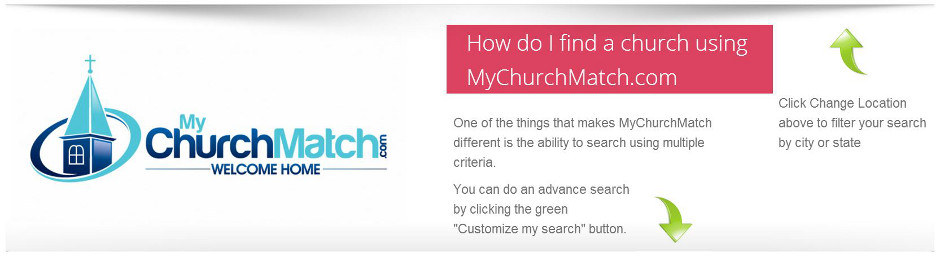 find churches near me